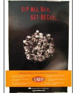 """Sip All Day, Get Decay"" Poster"