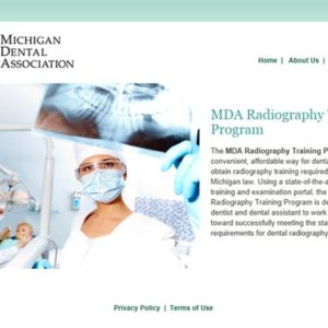 MDA Radiography Training Program