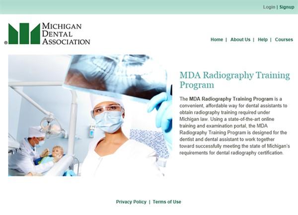 MDA Radiography Training Program